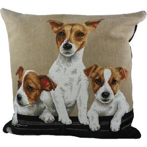 Coussin Gobelin Jack Russell - Mars & More
